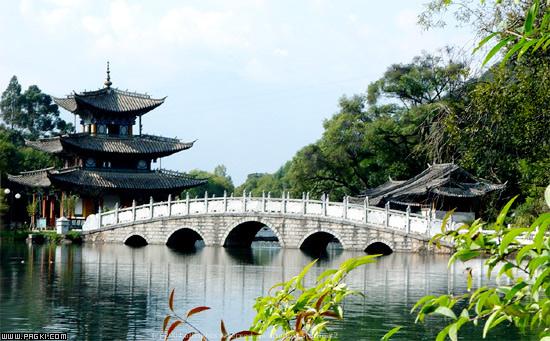 关键字:丽江标志性景观